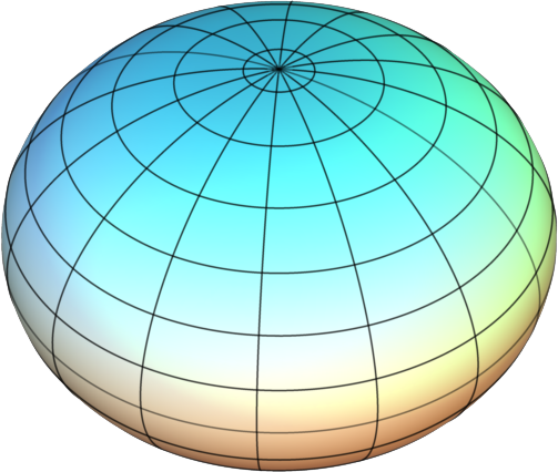 [an oblate spheroid]