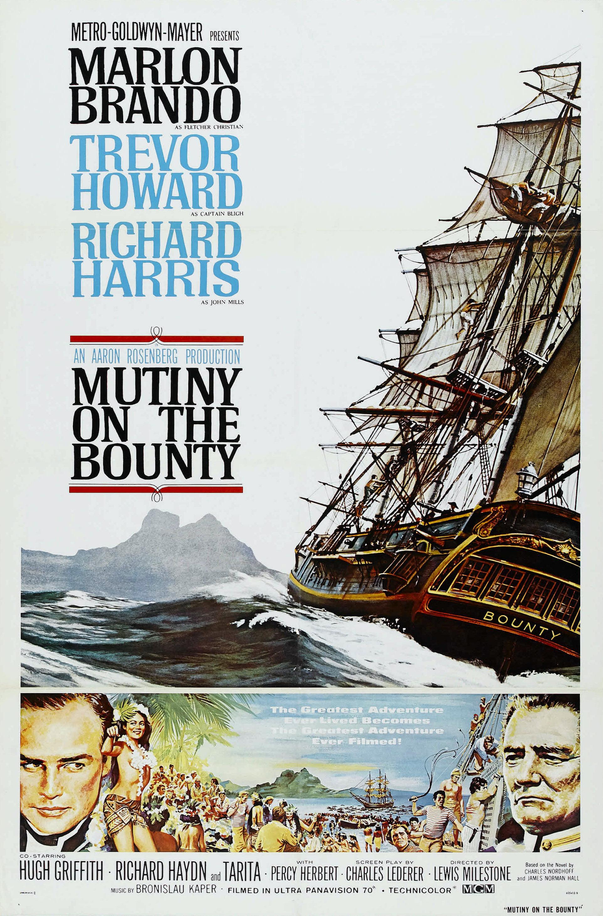 Les Révoltés Du Bounty 1935 : révoltés, bounty, Mutiny, Bounty, (1962, Film), Wikipedia