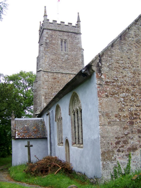 File:The Church of St John the Baptist, Higher Ashton - geograph
