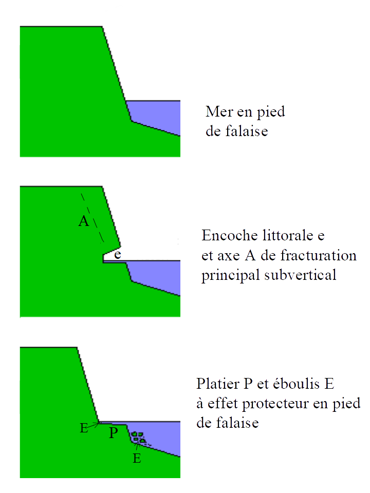 wave cut platform diagram tree game file:wave platform-fr.png - wikimedia commons