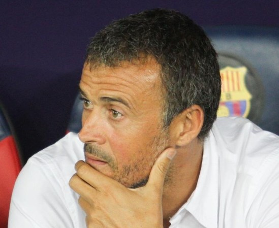 Luis Enrique's Barcelona are on the verge of elimination in the Champions League