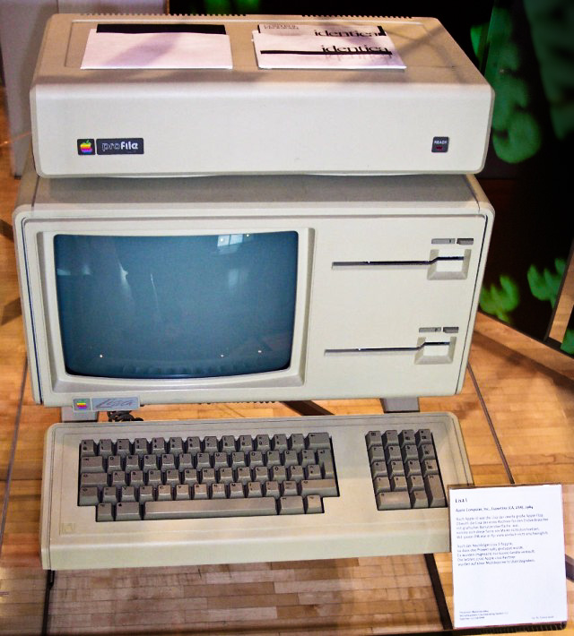 Apple lisa (curtesy of wikipedia)