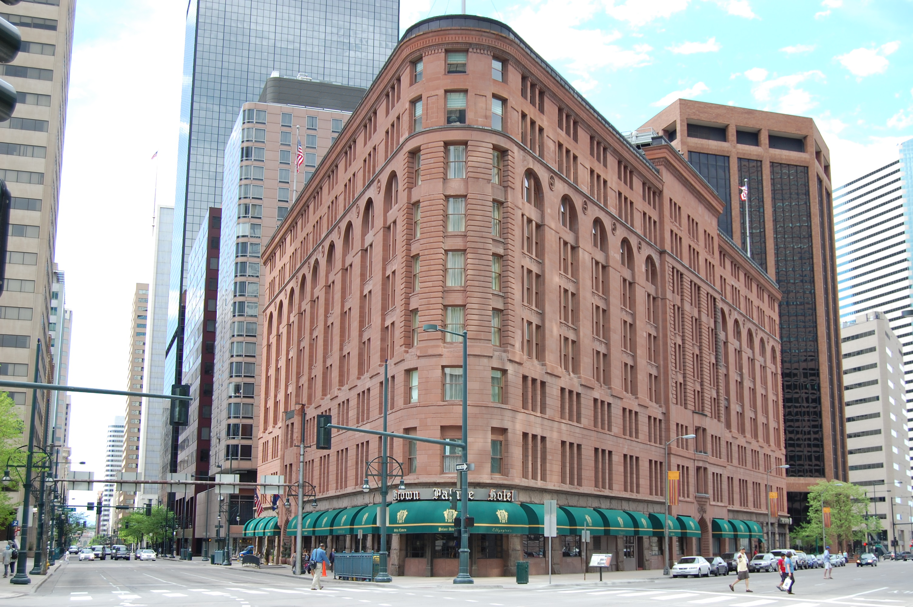 Brown Palace Hotel Denver Wikipedia