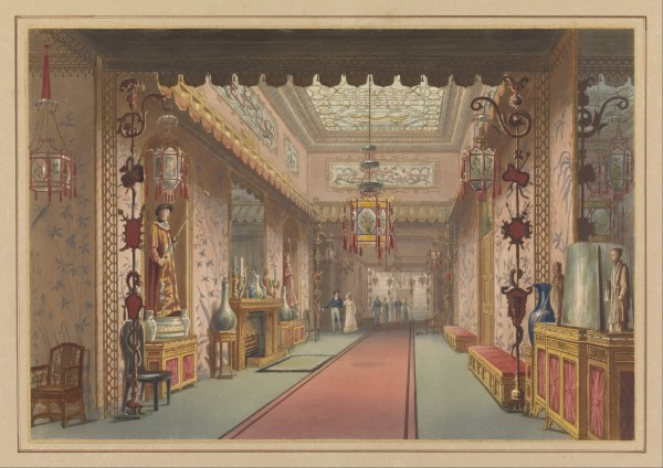Royal Pavilion Brighton Interior