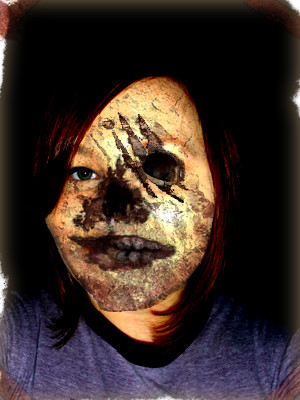 Amber's Face - Zombie