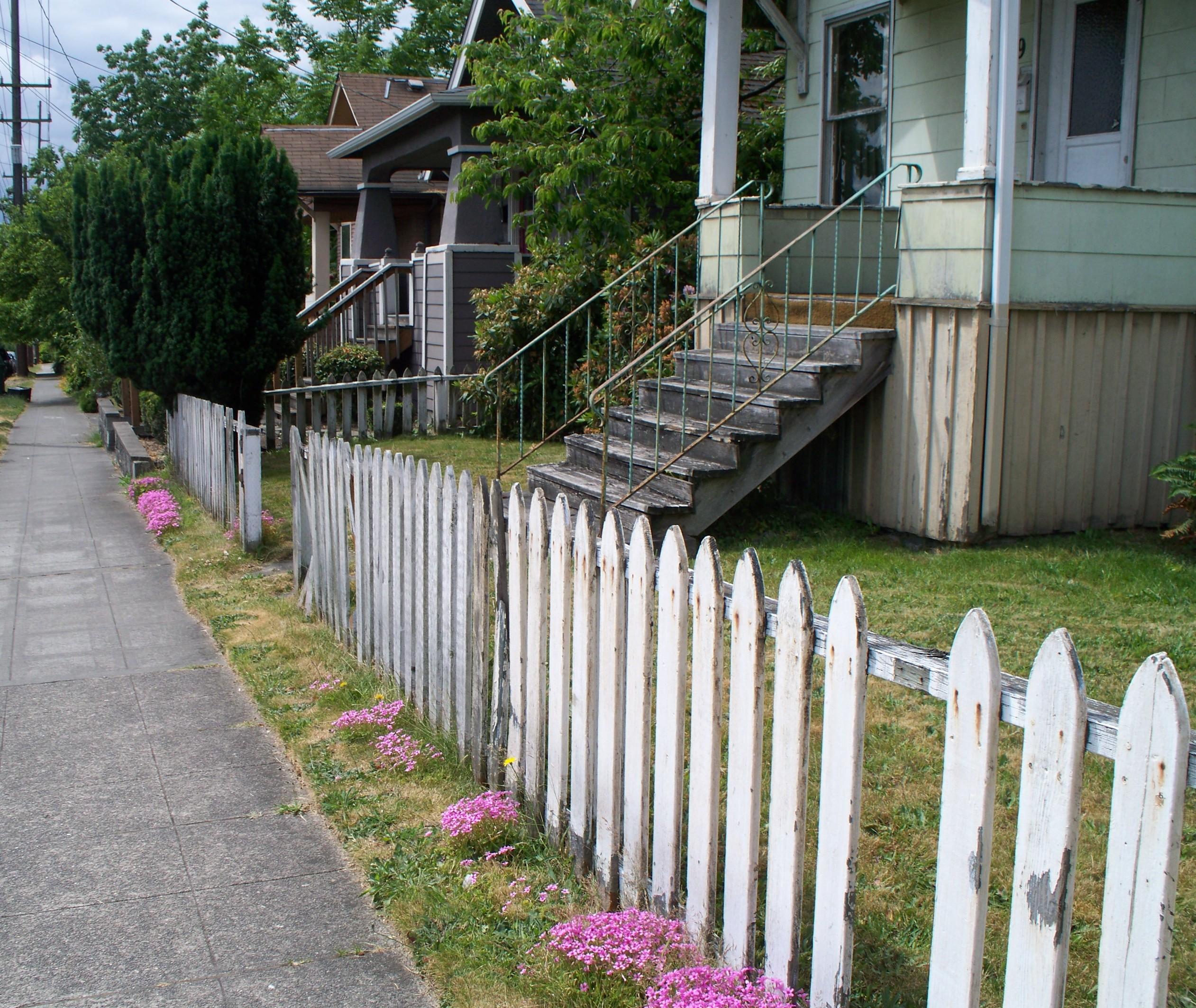 picket fence wikipedia
