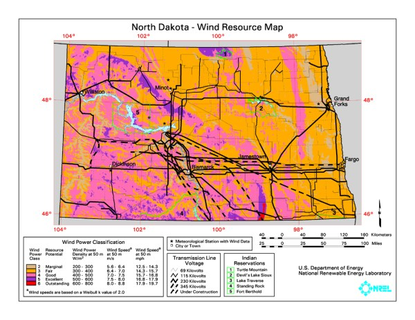 Wind power in North Dakota Wikipedia
