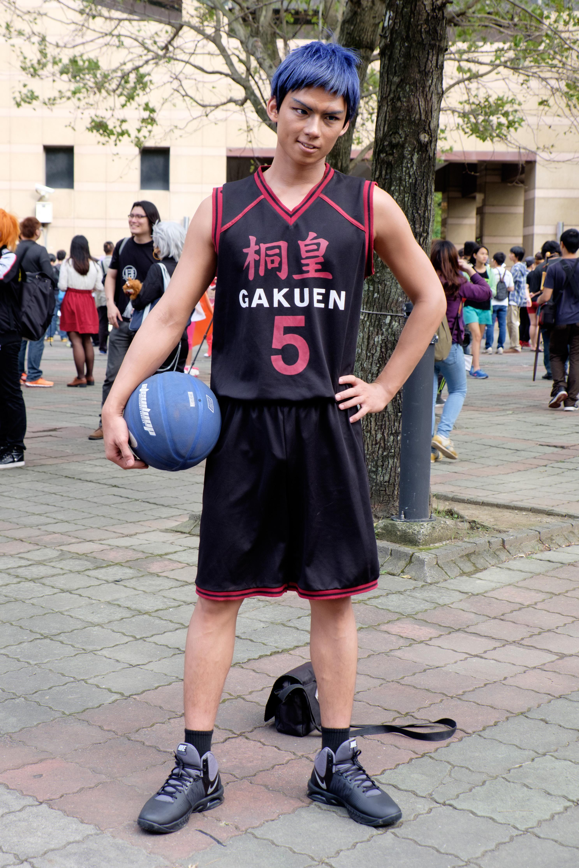 Kuroko No Basket Aomine : kuroko, basket, aomine, File:Cosplayer, Daiki, Aomine,, Kuroko, Basket, 20151025b.jpg, Wikimedia, Commons