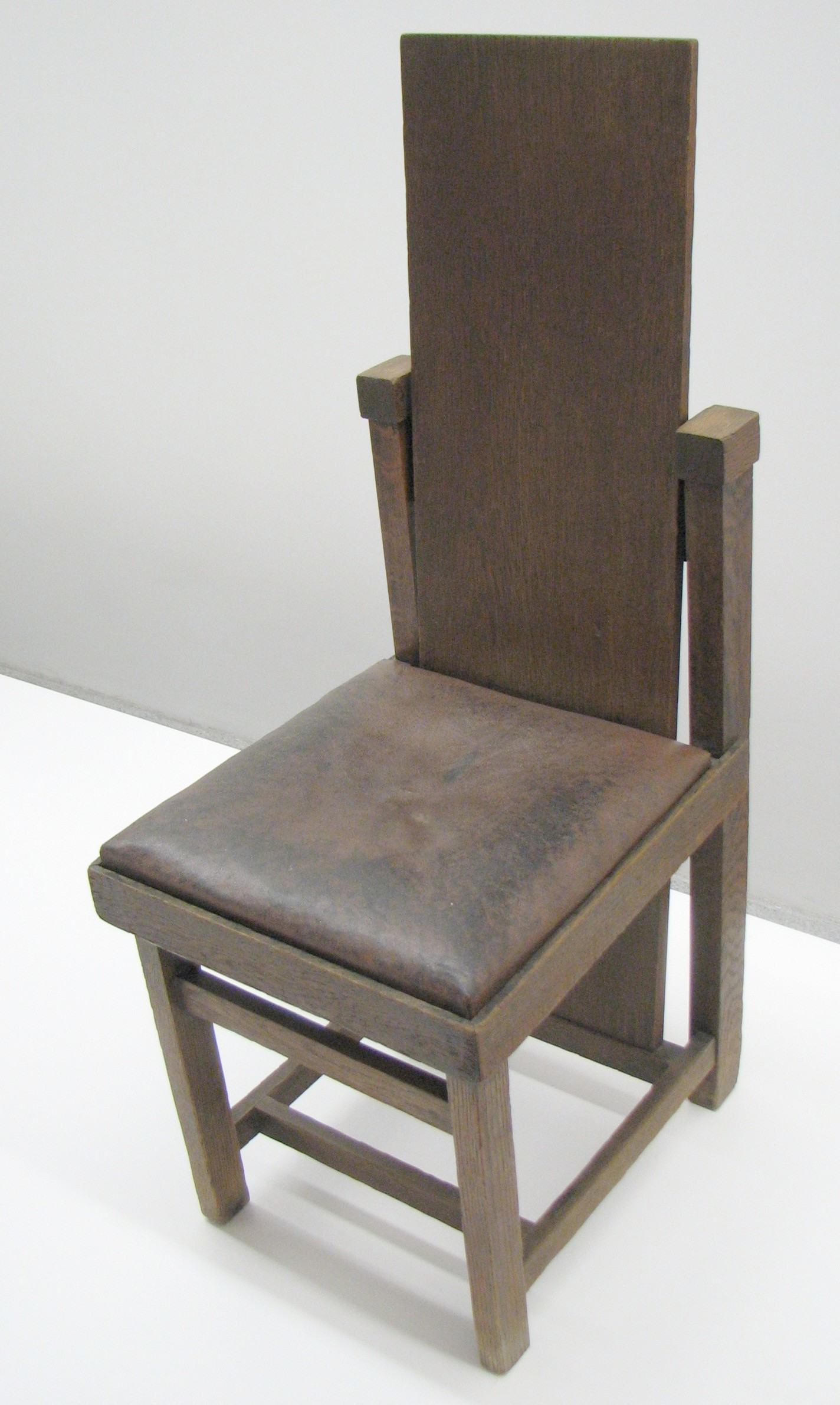 Frank Lloyd Wright Chairs File Frank Lloyd Wright Chair 1903 Jpg Wikimedia Commons