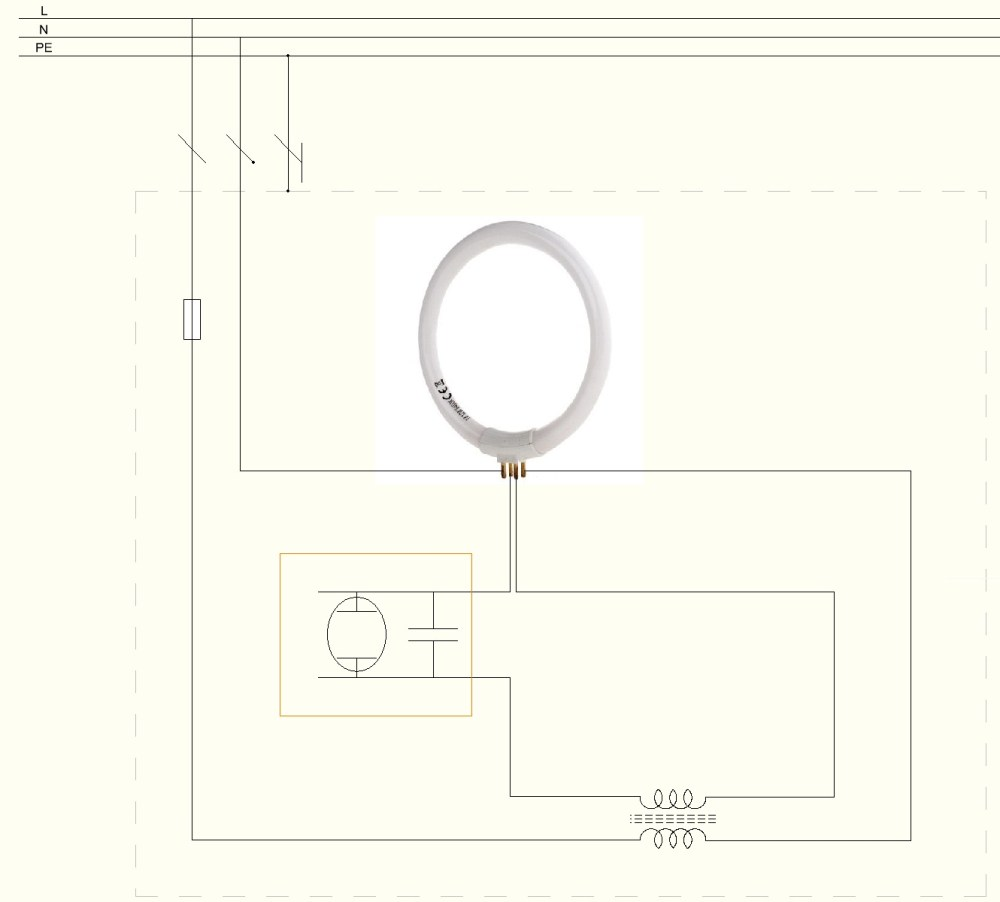 medium resolution of file how to wire circular fluorescent lamp jpg