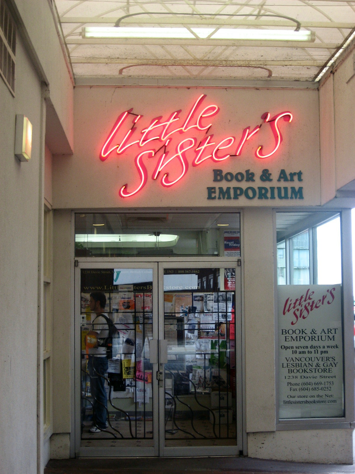 Little Sisters Book and Art Emporium  Wikipedia