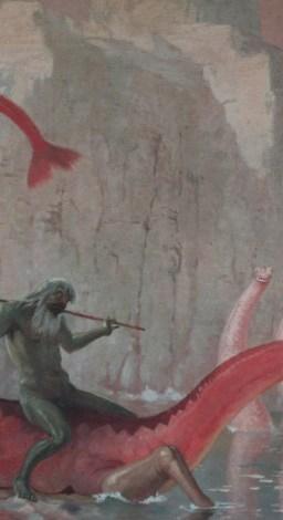 Max Frey - Poseidon auf Fabelwesen