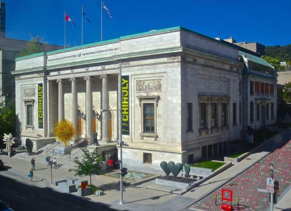 Montreal Museum of Fine Arts Building