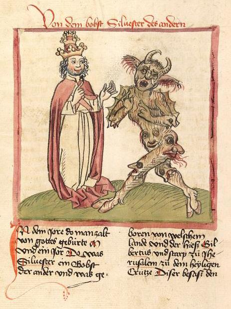 40 изображений Сатаны в Средневековье