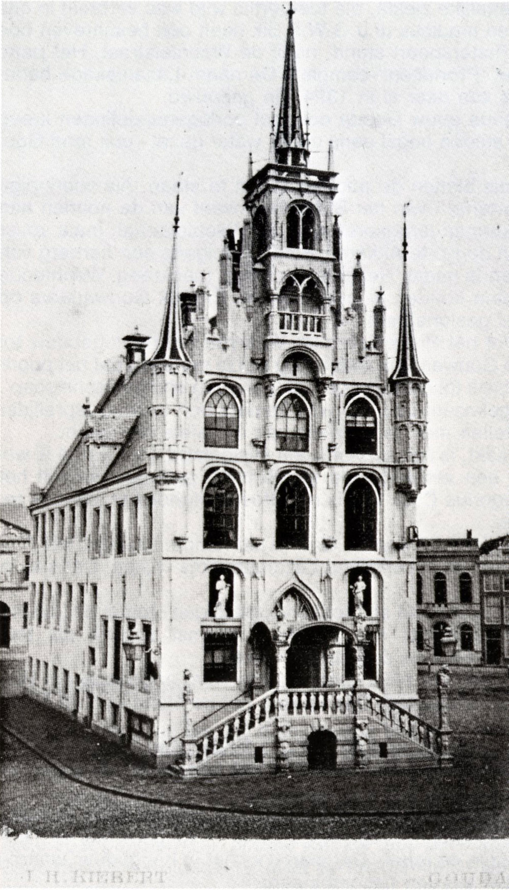 Jan en Jan werkten aan het Stadhuis van Gouda.