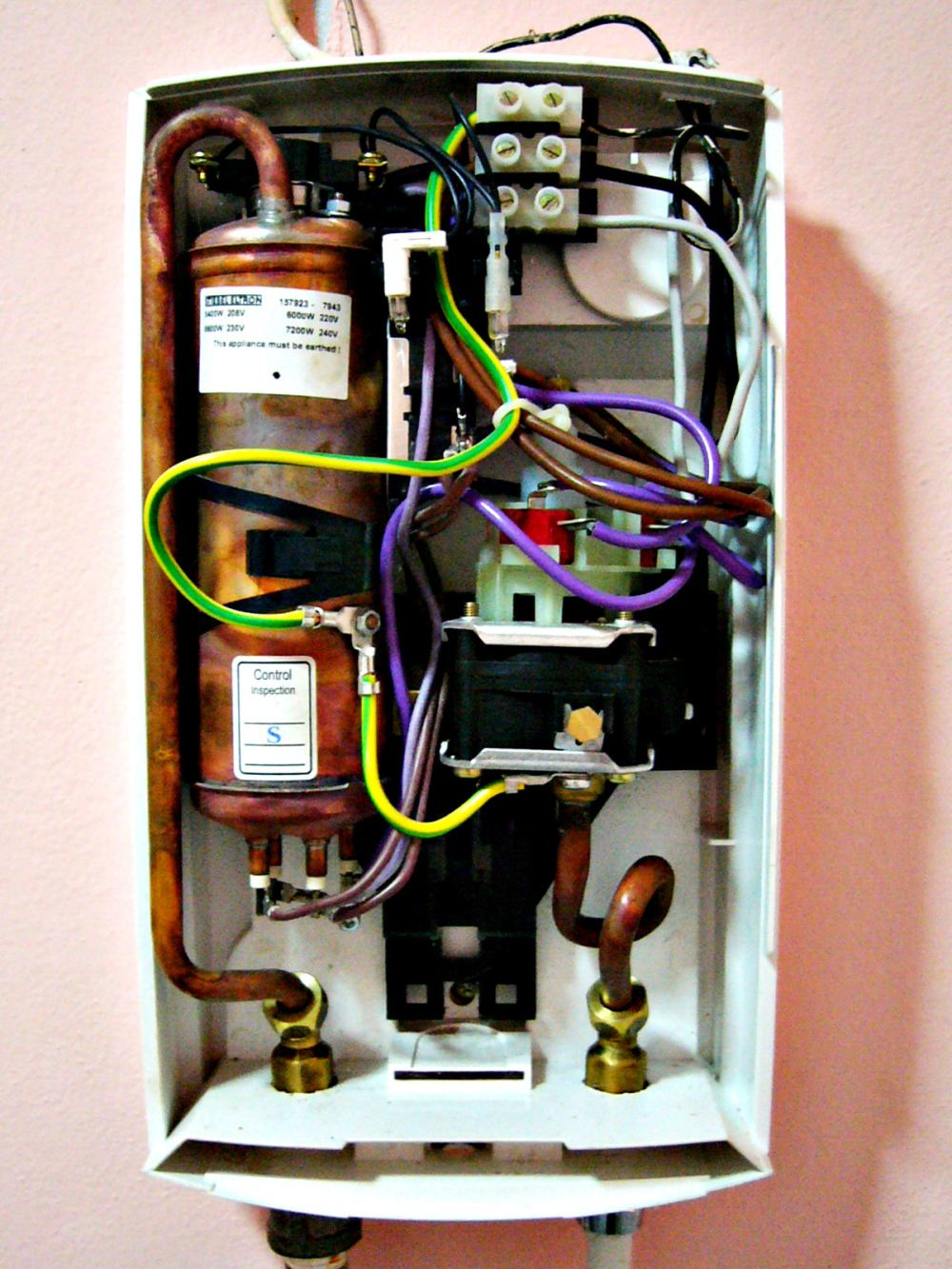 medium resolution of hot water tank electrical wiring