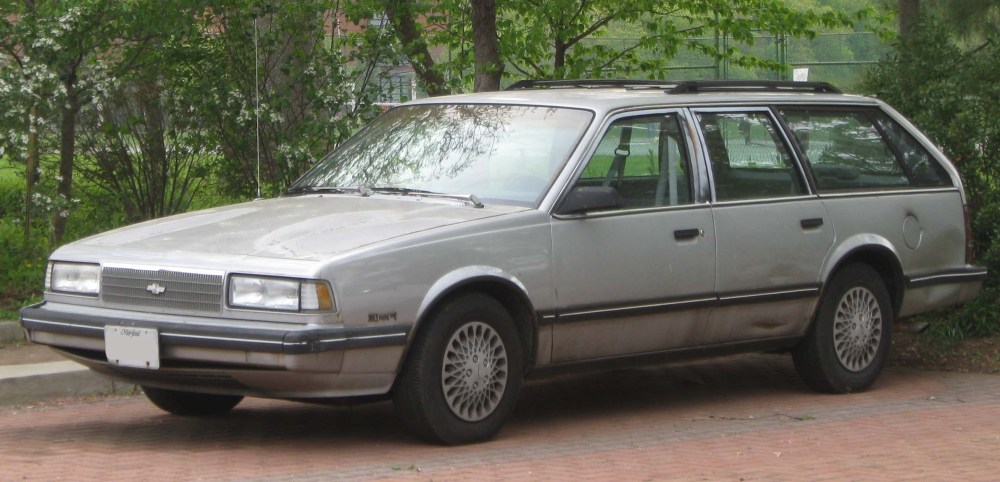 medium resolution of file 1990 chevrolet celebrity 3 1 wagon front 04 20 2010