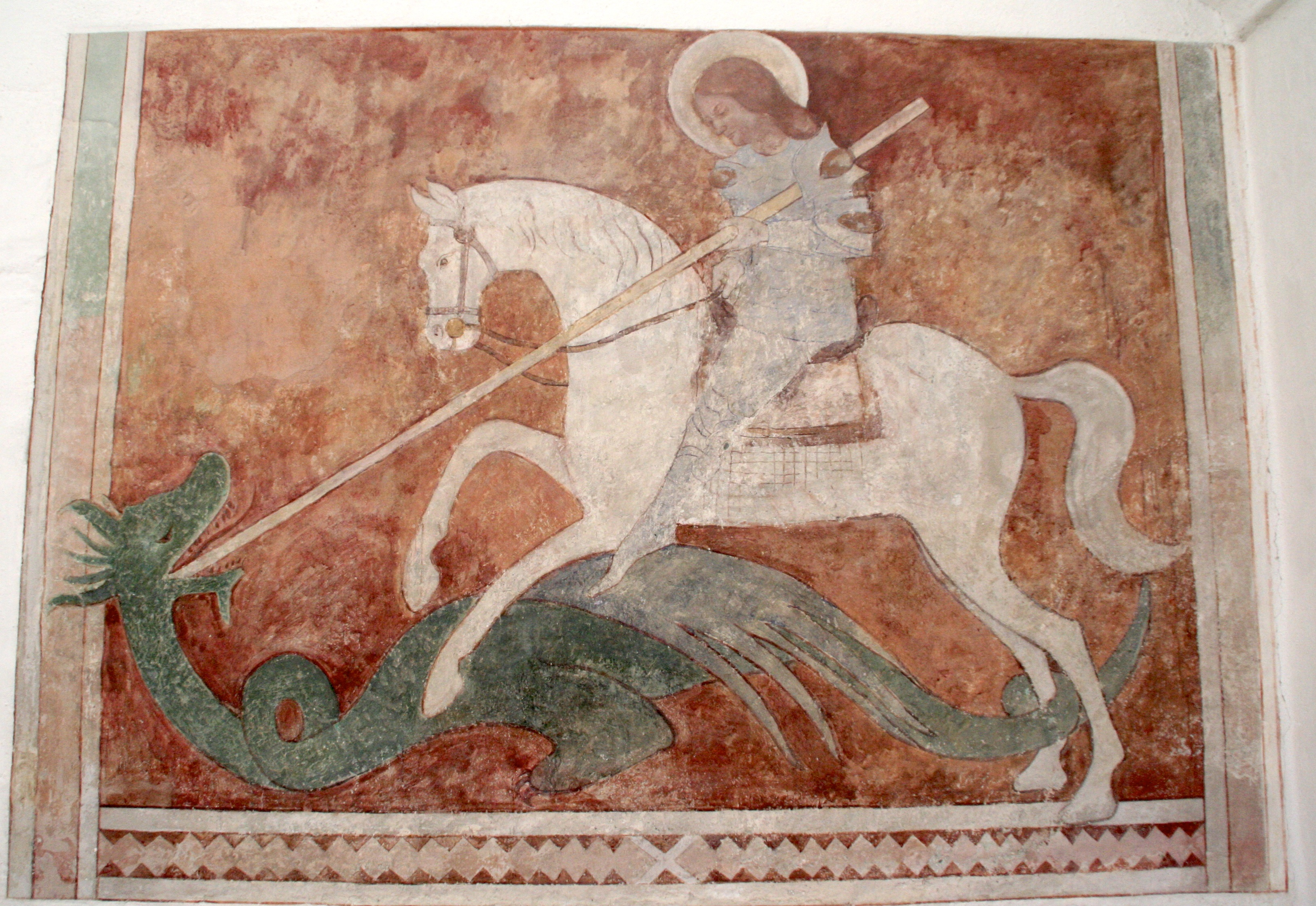 St. George and the Dragon art