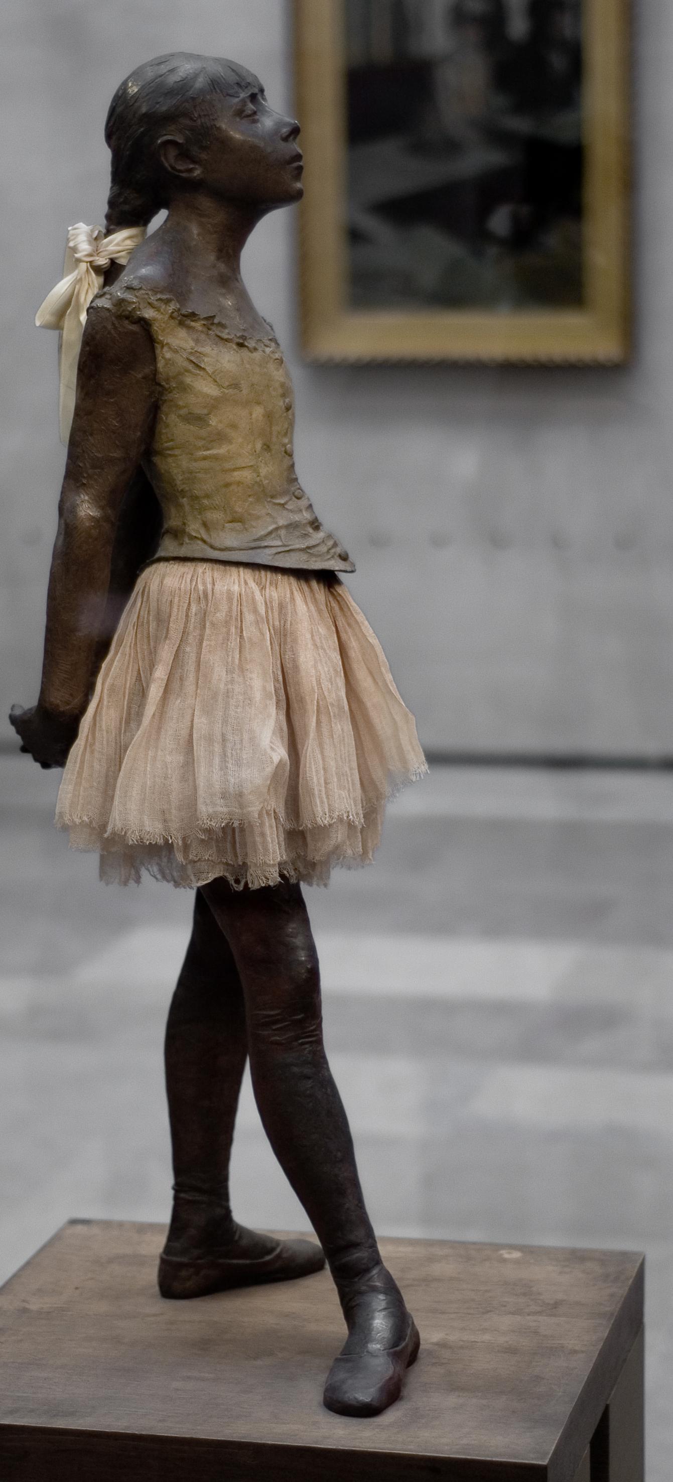 La Petite Danseuse De Degas : petite, danseuse, degas, Petite, Danseuse, Quatorze, Wikipédia