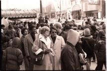 File Dorothy Von Beroldingen With Jim Jones Protest