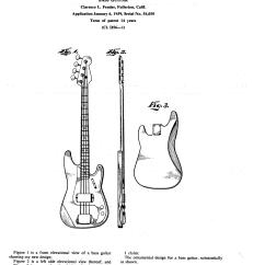 P Bass Body Dimensions 1991 Toyota Pickup Wiring Diagram File Fender Guitar Patent Jpg Wikimedia Commons