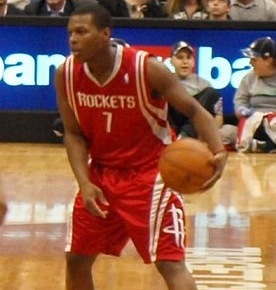 Lowry with the ball