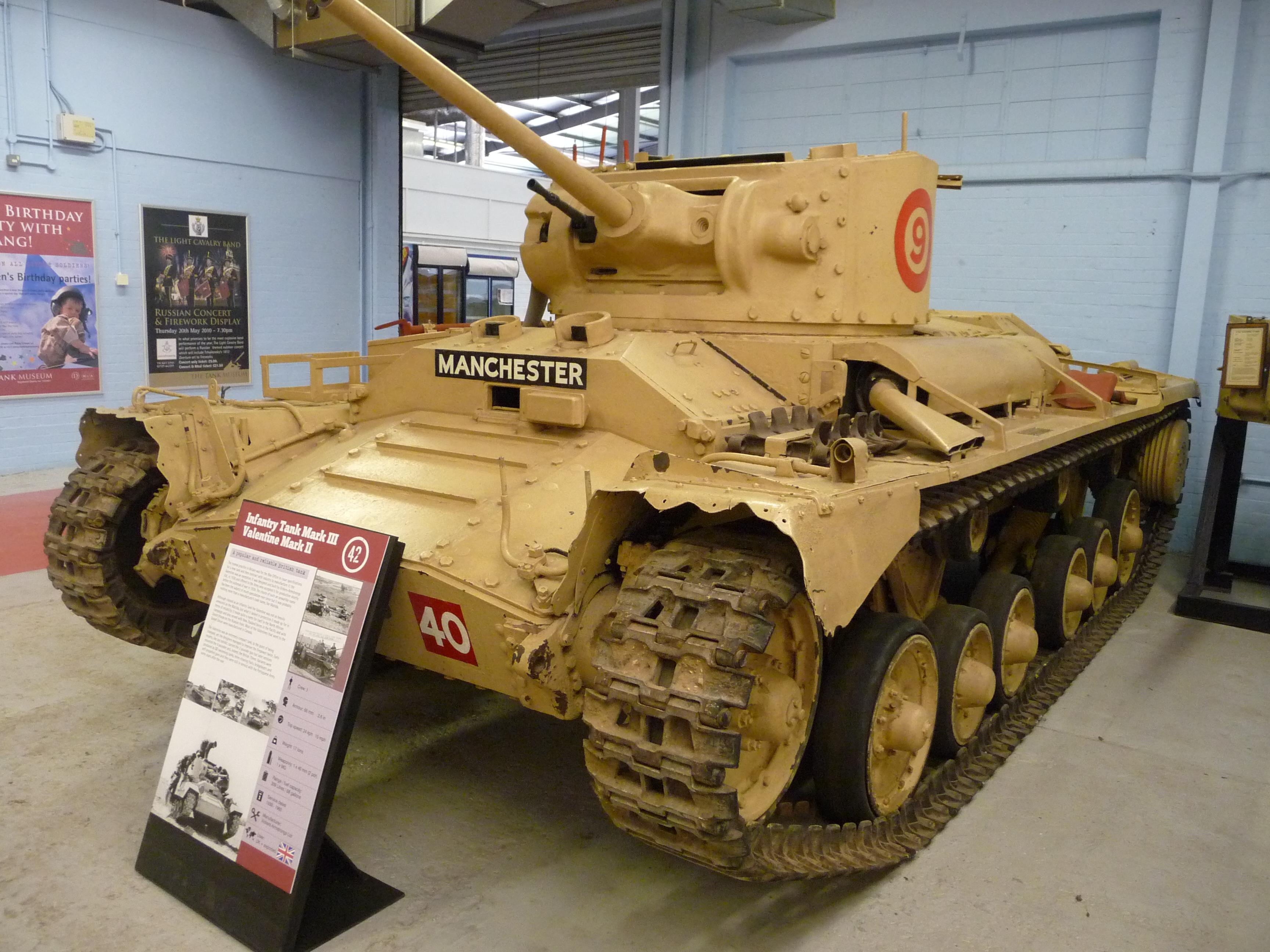 FileTank Infantry Mark III Valentine II 4536615746jpg