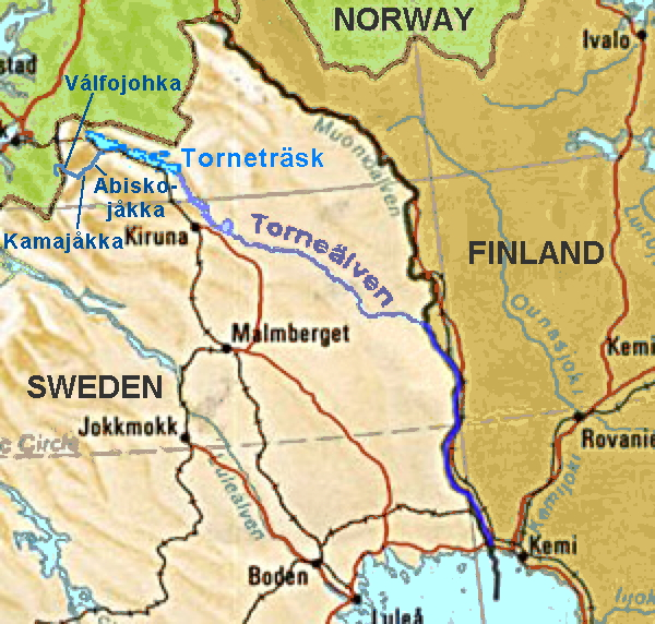 Settlement of the Tornio River Valley Part I Around the World in