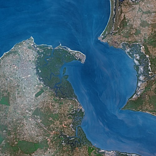Banjul by SPOT Satellite
