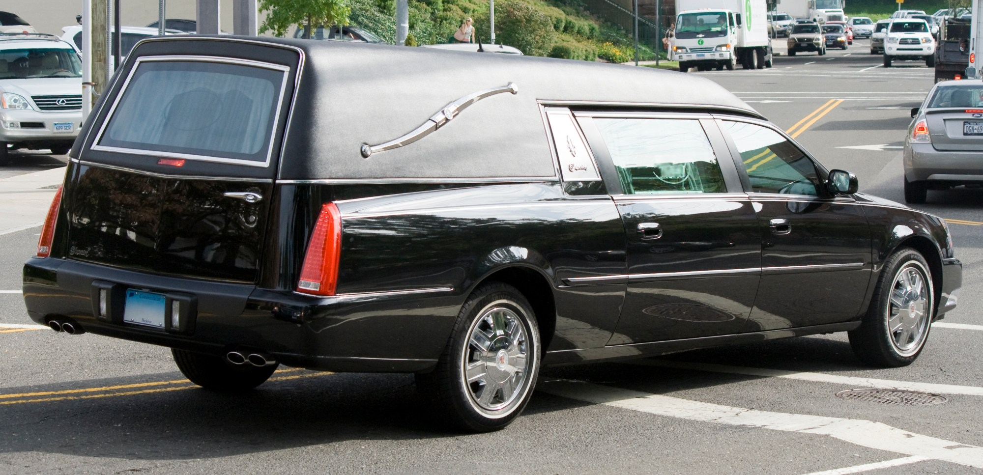 hight resolution of cadillac dts hearse