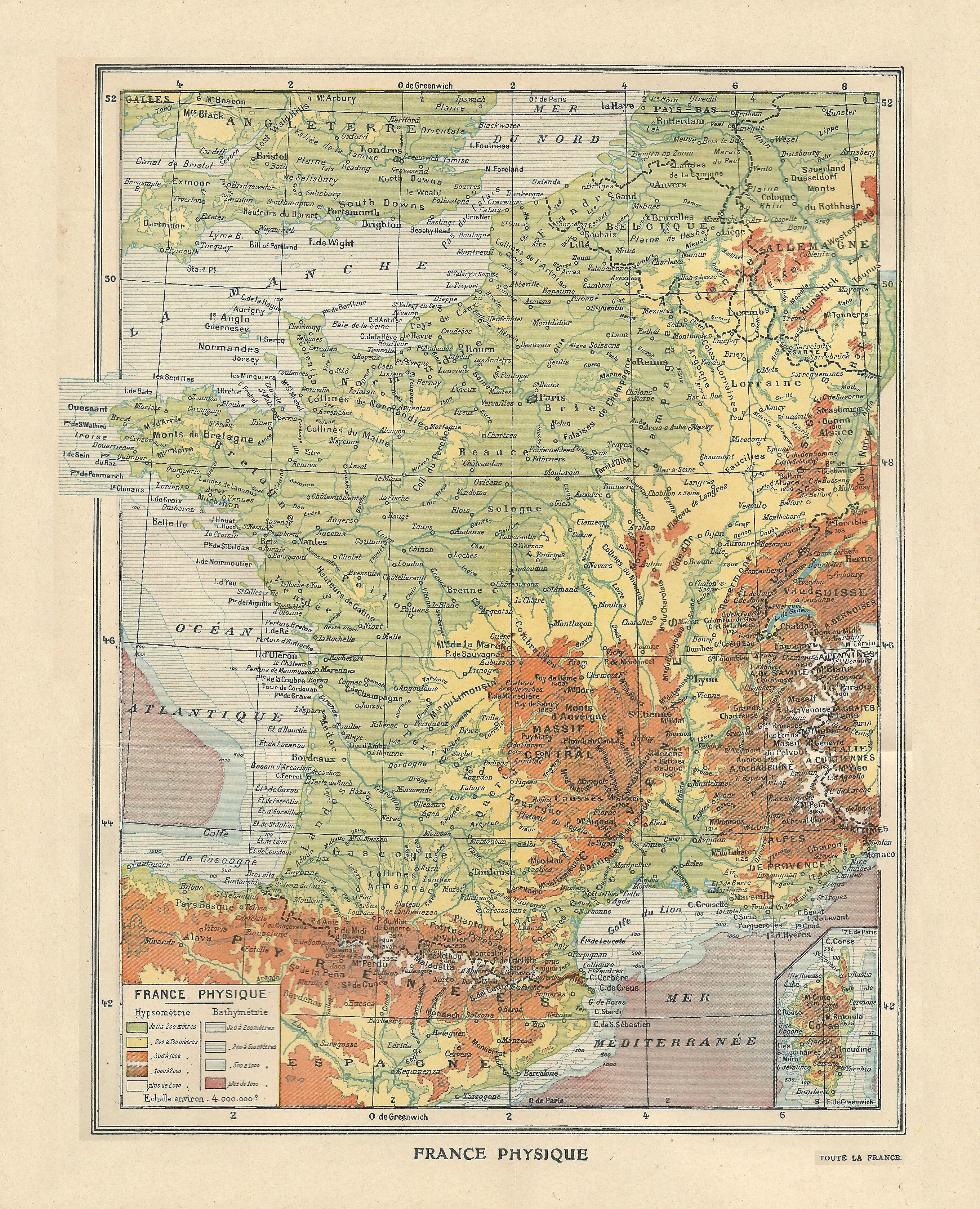 Carte De France - Pinterest - France