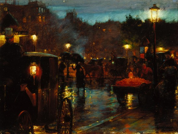 Image result for charles curran paris at night