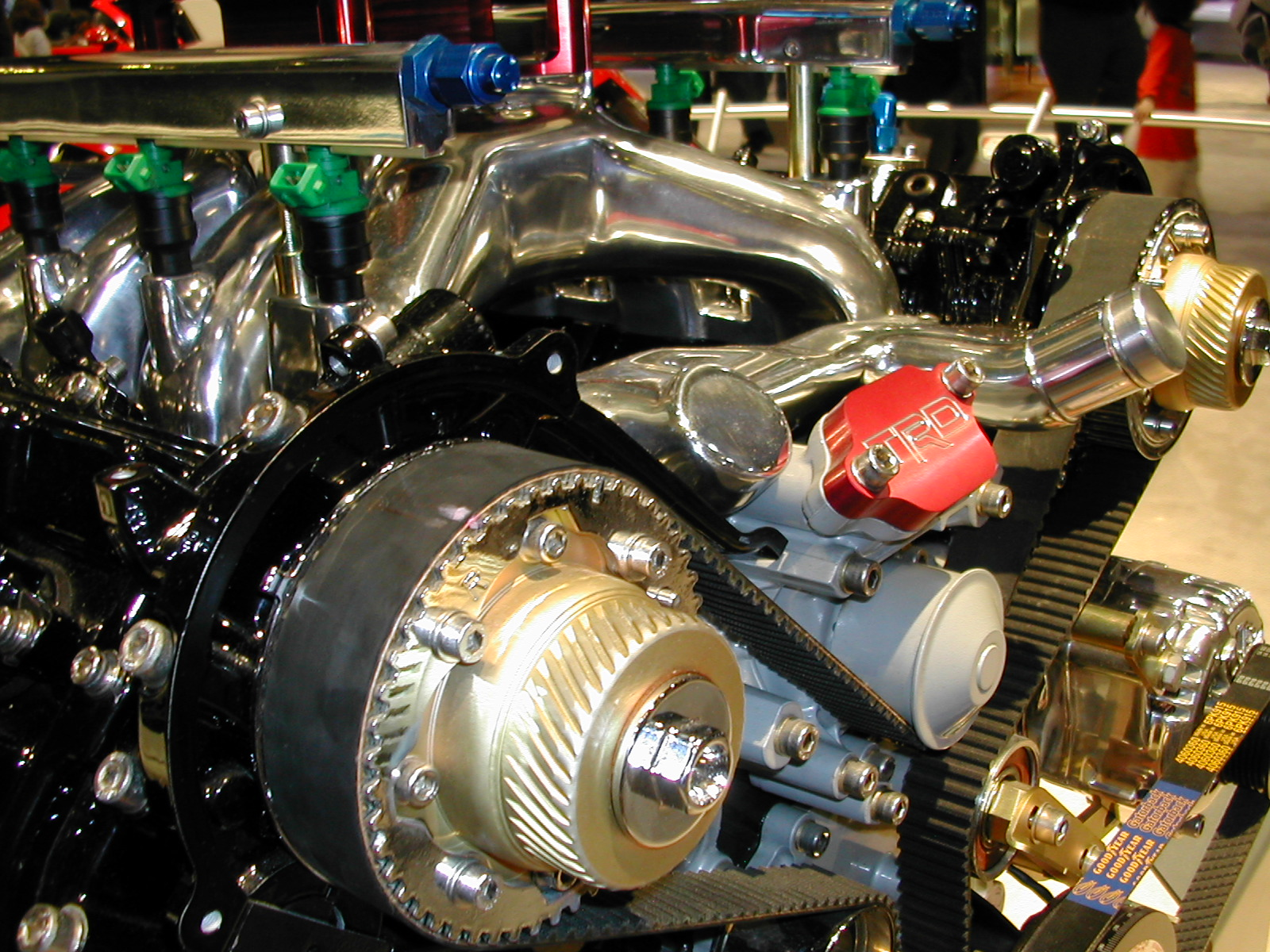 hight resolution of automobile engine