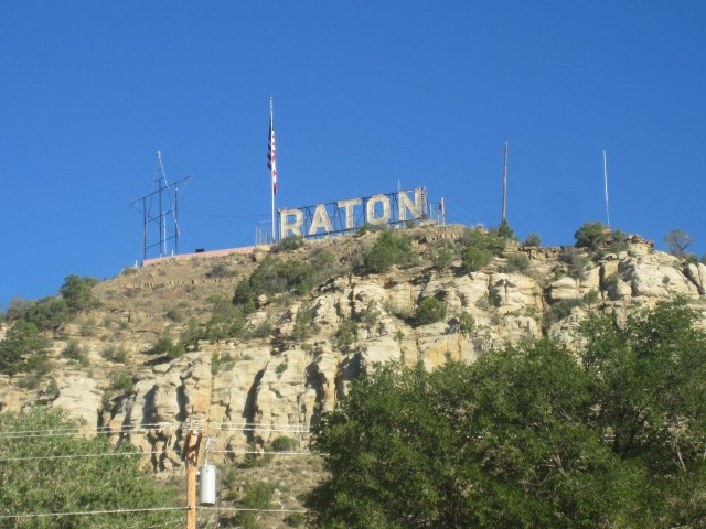Goat Hill Raton Sign