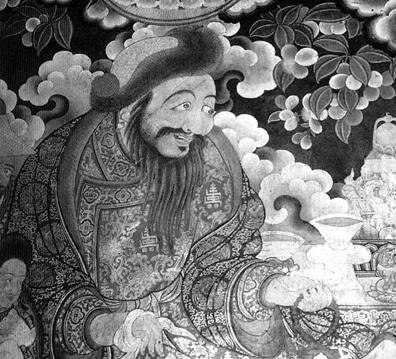 Gushri Khan (1582-1655) - Wikicommons
