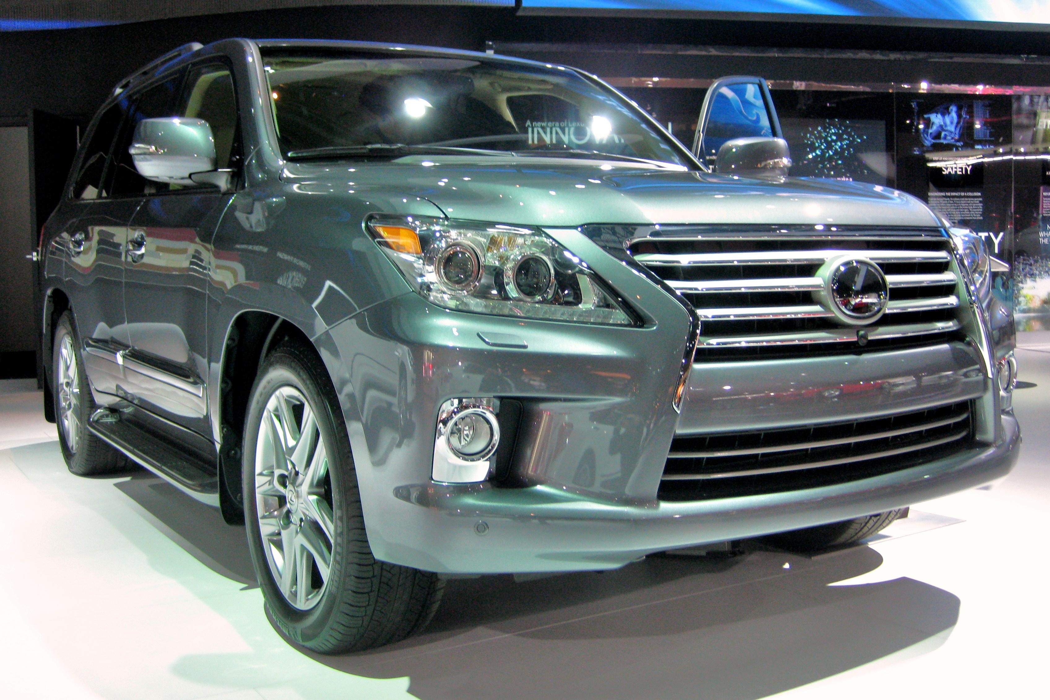 Lexus LX Wikiwand