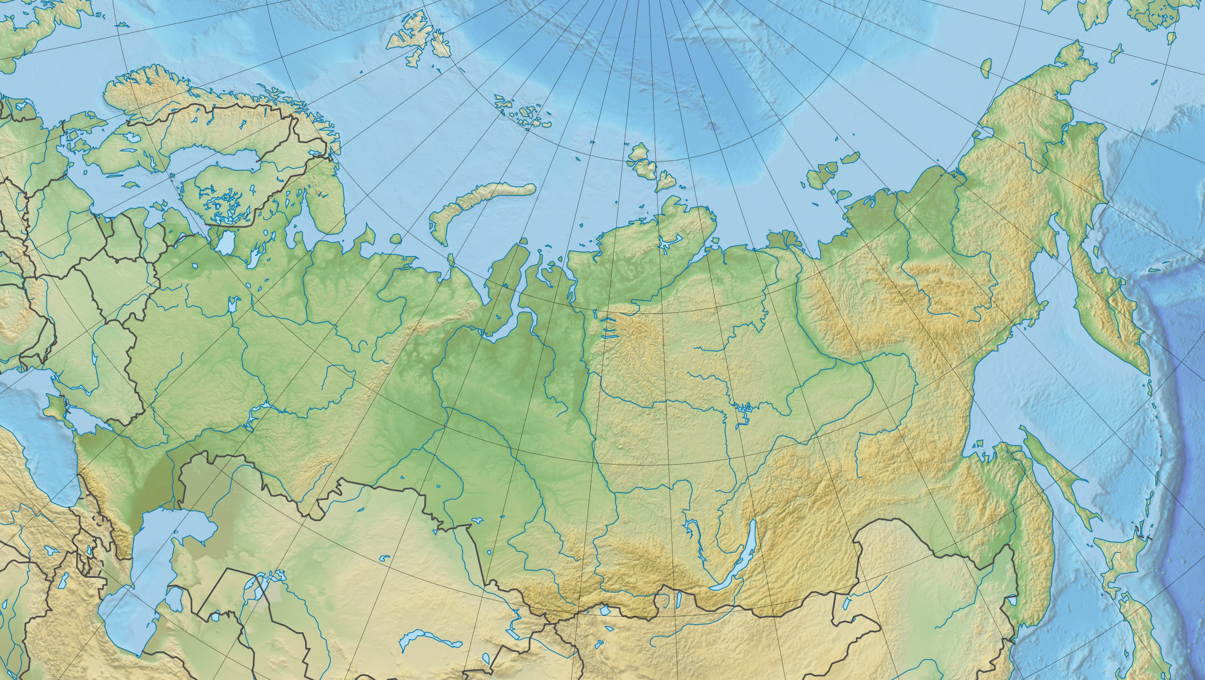File Russia Physical Location Map