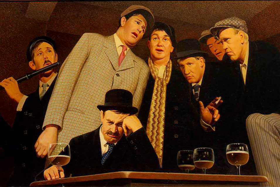 FileSentimental Ballad by Grant Wood 1940jpg