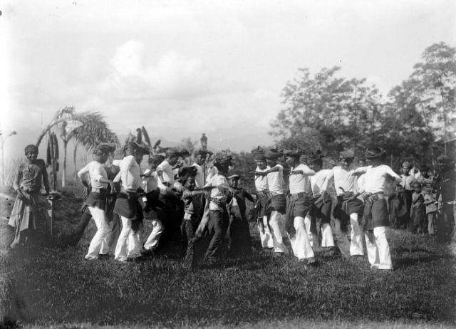 Tari seudati jaman dulu di Samalanga, Bireuen Aceh
