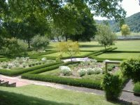 Southern Backyard. File:Lanier Mansion Garden JPG ...