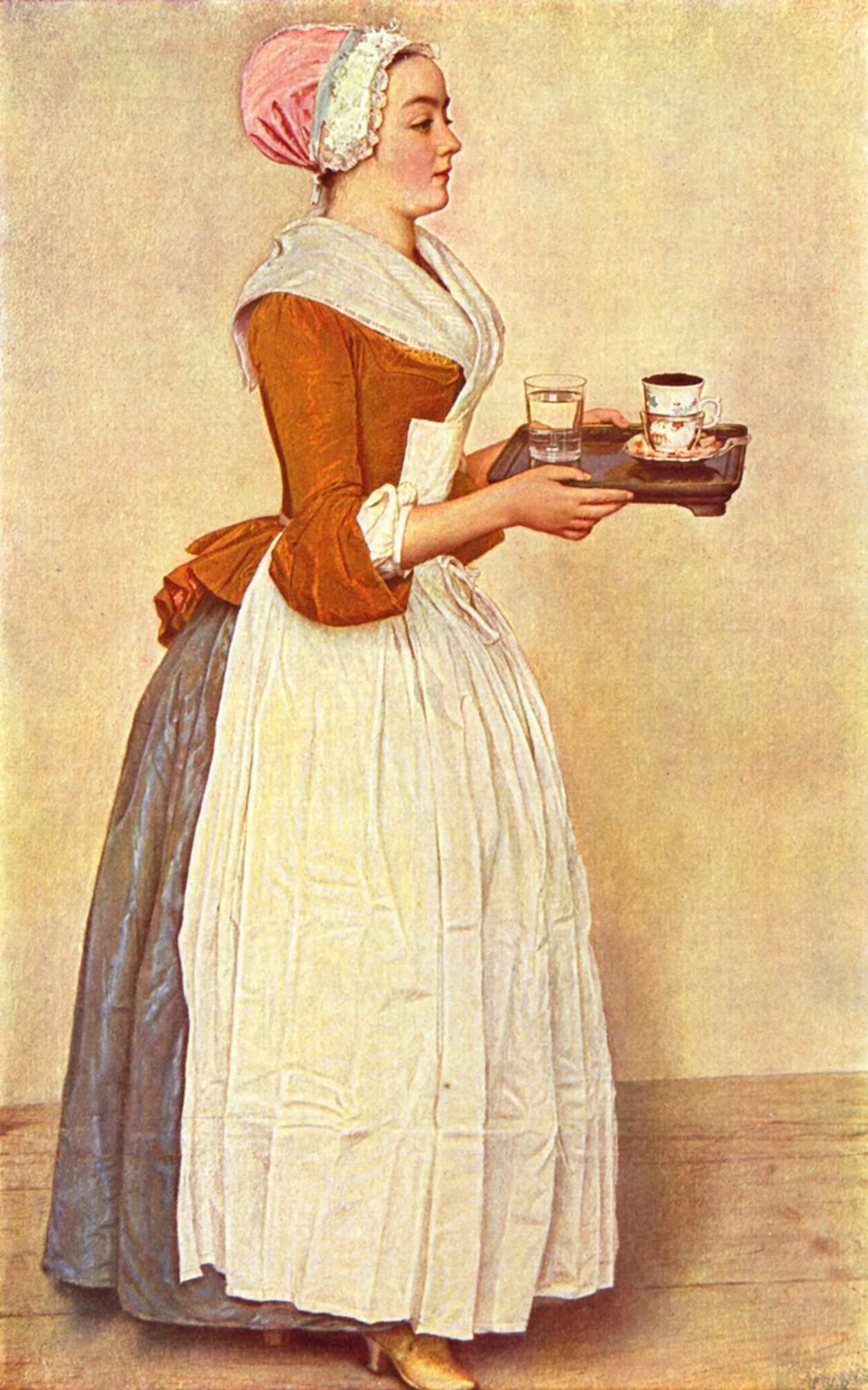 kitchen maid elegant curtains 女佣 维基百科 自由的百科全书 厨房女仆