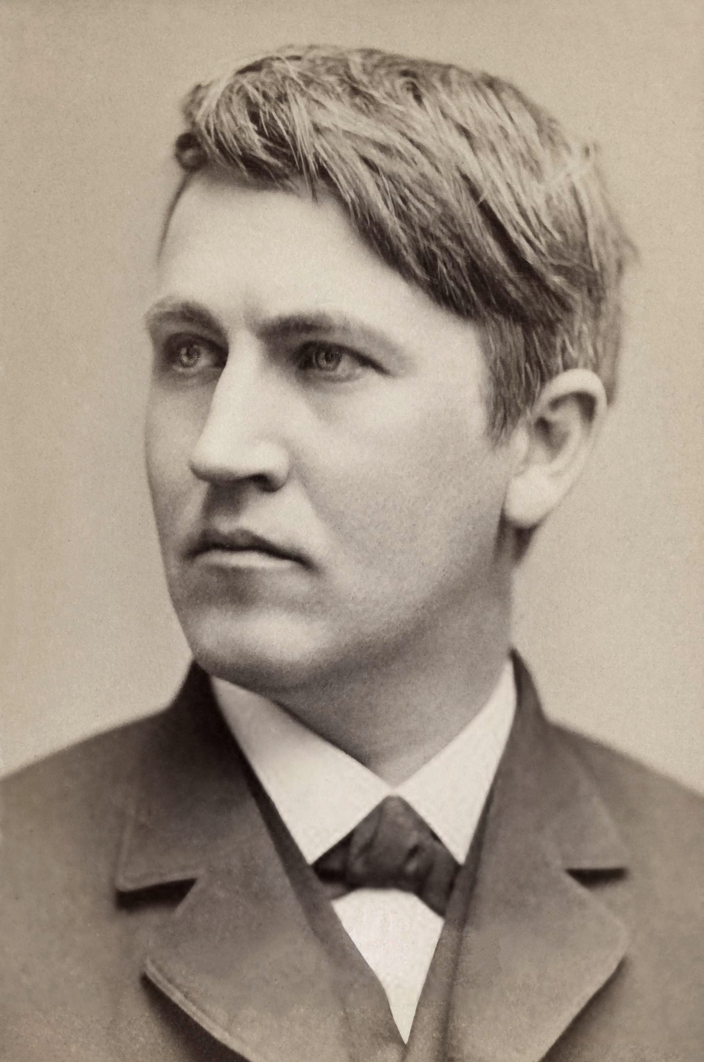 Filethomas Edison, 1878jpg  Wikimedia Commons