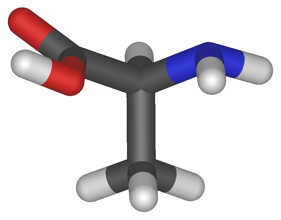 Aminoácido. Imagem Wikipedia