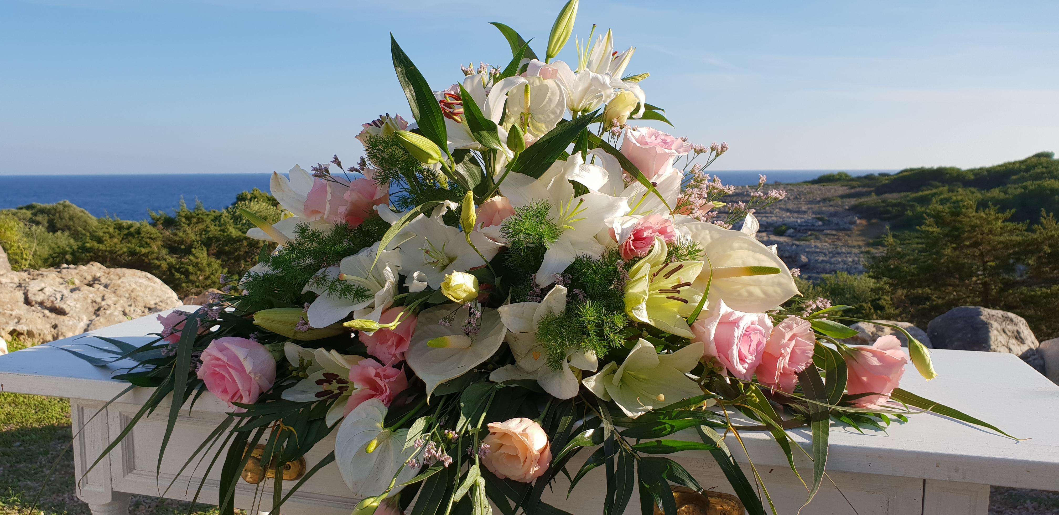 Blumendekoration Fur Hochzeit