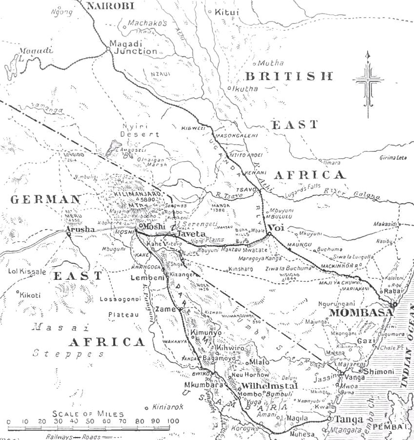 File:Early operations, British and German East Africa