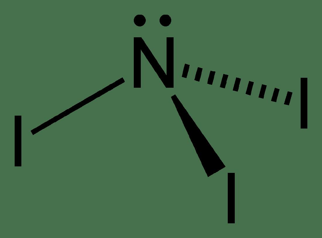 electron dot diagram for n2 diy ceiling rose wiring diagrams nitrogen triiodide wikipedia