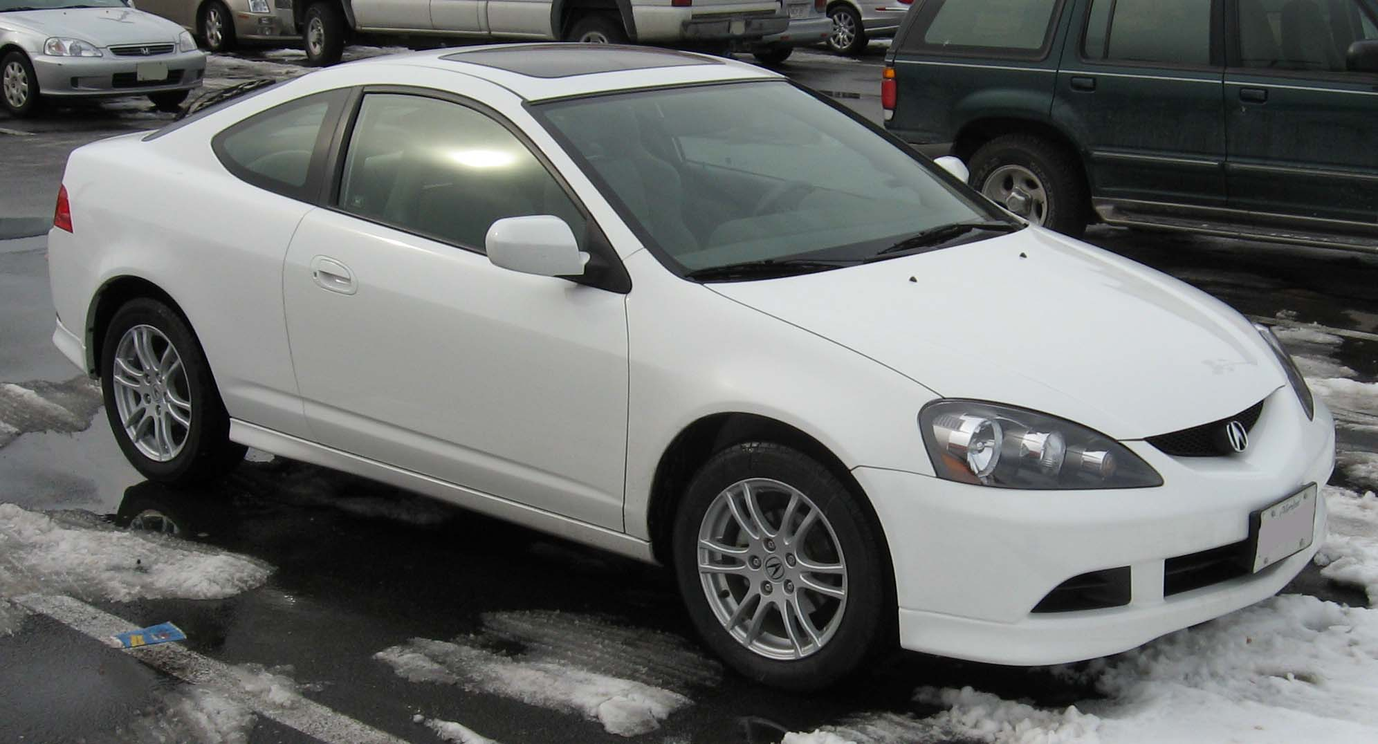 hight resolution of acura rsx