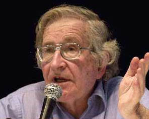 Noam Chomsky at World Social Forum - 2003. Sou...