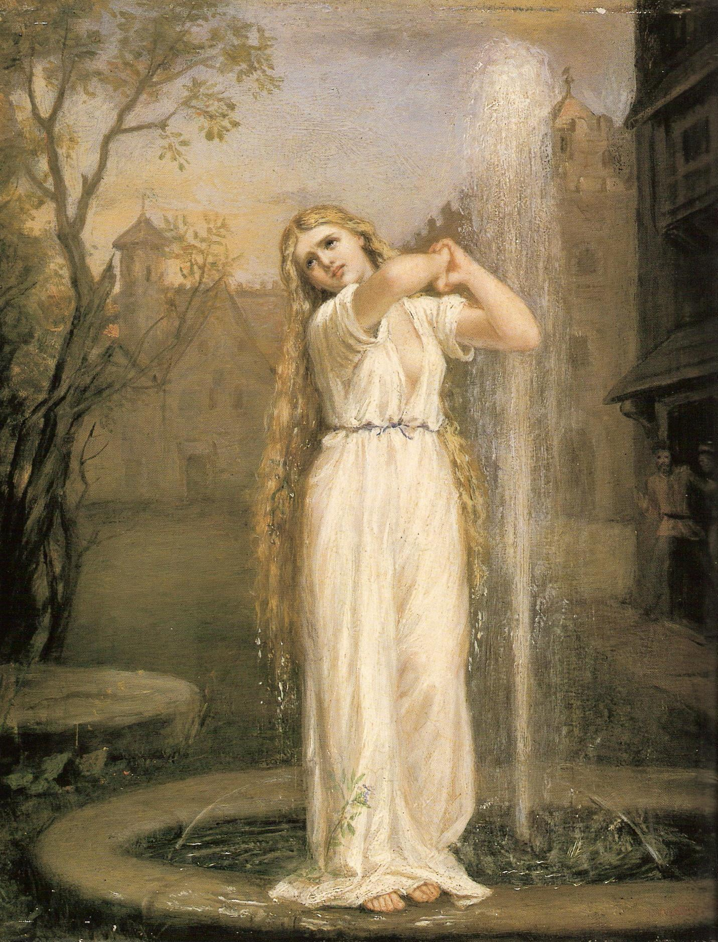 John William Waterhouse, Undine, 1872