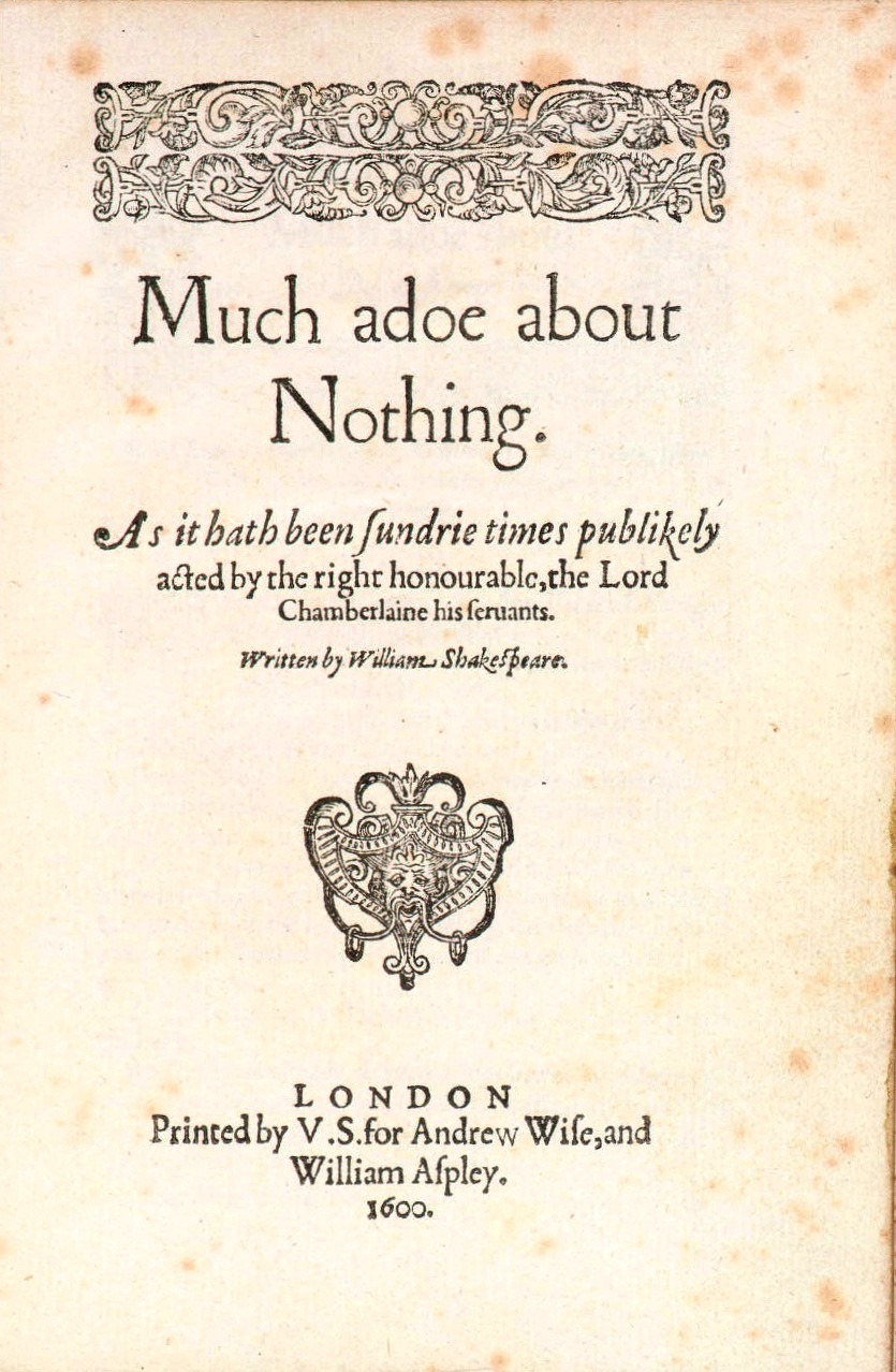 Much Ado About Nothing  Simple English Wikipedia the